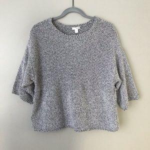 J. Jill Pure knit 3/4 kimono sleeve sweater